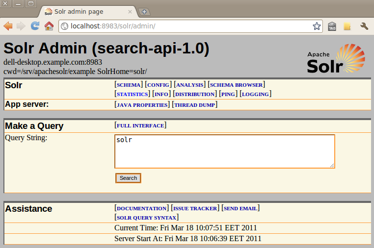 Drupal7 AJAXified Solr Search with facets  Search API